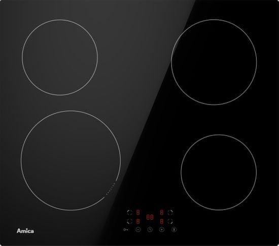 Amica AHI601 indukcijska plošča, črna (1190669)