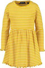 Blue Seven dekliška obleka, rumena, 122