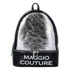 Maggio Mestský dámsky batoh Maggio Couture, strieborný