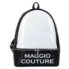 Maggio Mestský dámsky batoh Maggio Couture, čierno biely