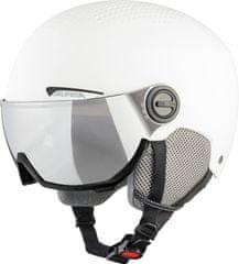 Alpina Sports kask narciarski Arber Visor, biały, 51-55 cm, A9228.2.12