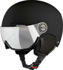Alpina Sports kask narciarski Arber Visor, czarny, 54-58 cm, A9228.3.30
