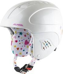 Alpina Sports Kask Carat, biały, 48-52 cm, A9035.1.62