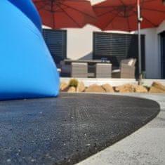 FLOMA Gumová ochranná tlumící čtvercová podložka pod bazén, vířivku PoolPad - 193 x 193 x 0,8 cm