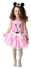 Rubie's Minnie Mouse: Ružová balerína M