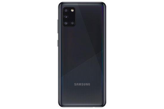 Samsung Galaxy A31 mobilni telefon, 4GB/64GB, črn - Odprta embalaža