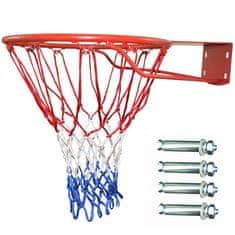 Master basketbalová obrúčka 16 mm + sieťka