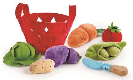 Hape košara z zelenjavo