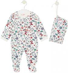 Losan dětské pyžamo 56 - 62 bílá