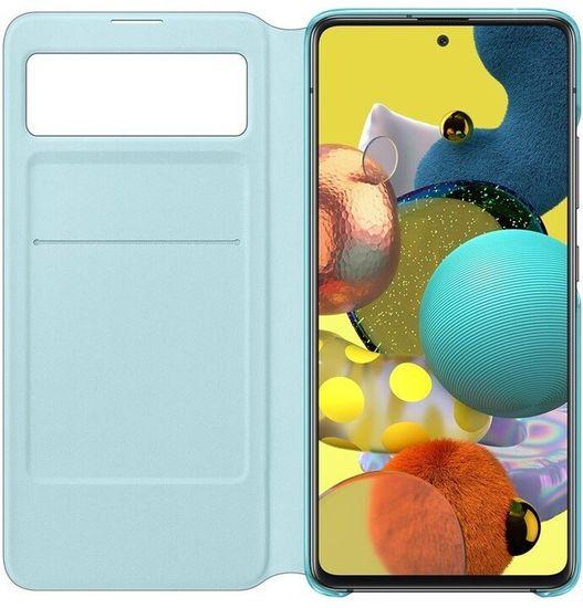 SAMSUNG Flipové puzdro S View Galaxy A51 5G EF-EA516PBEGEU, čierne