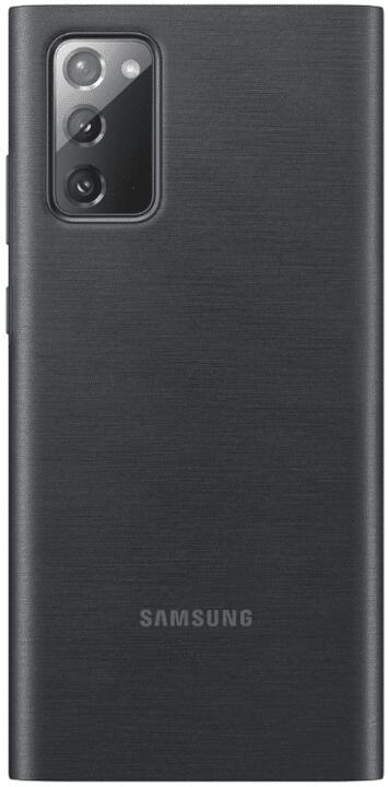 Samsung Flipové pouzdro Clear View Note 20 EF-ZN980CBEGEU, černá