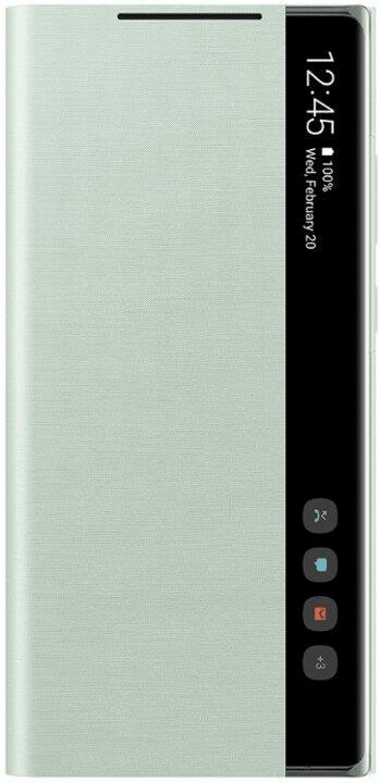 Samsung Flipové pouzdro Clear View Note 20 EF-ZN980CMEGEU, zelená - zánovní