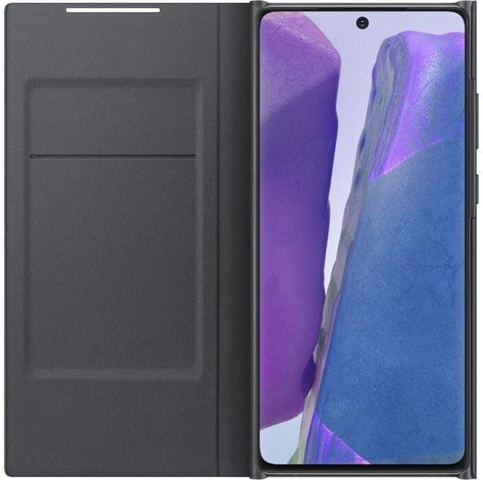 Samsung Flipové pouzdro LED View Note 20 EF-NN980PBEGEU, černá