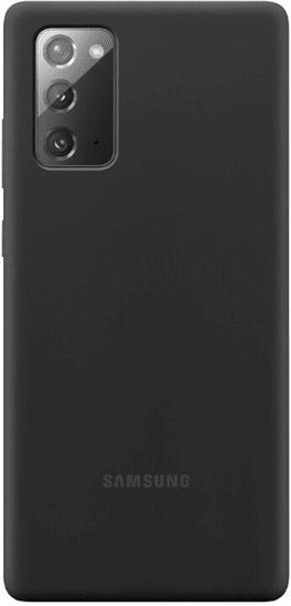 Samsung ovitek Galaxy Note 20, silikonski, črn