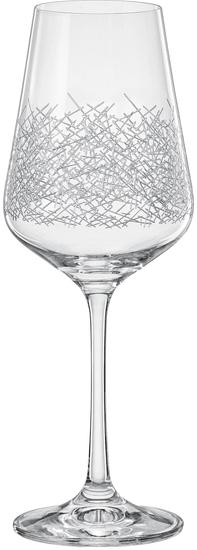 Crystalex SANDRA panto pohár, víno 250 ml