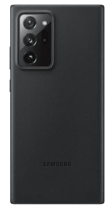 Samsung Kožený zadní kryt pro Note Ultra 20 Black EF-VN985LBEGEU