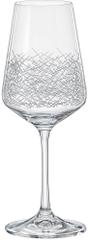 Crystalex SANDRA panto kalíšek víno 350 ml - rozbaleno