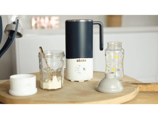 Béaba Ohrievač mlieka s miešaním Milk Prep Night Blue - zánovné