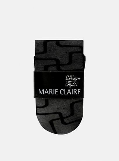 Marie Claire černé vzorované punčochové kalhoty