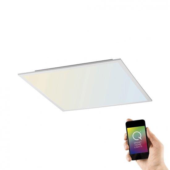 PAUL NEUHAUS PAUL NEUHAUS Q-FLAG, plochý LED panel, Smart-Home 2700-5000K PN 8097-16