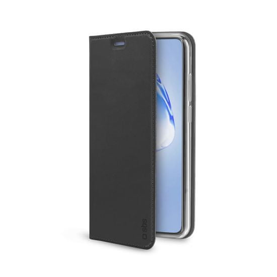 SBS Lite ovitek za Samsung Galaxy S20+, preklopni, črn