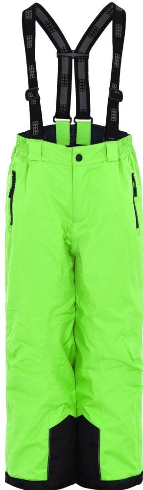 LEGO Wear dětské lyžařské kalhoty POWAI 134, zelená