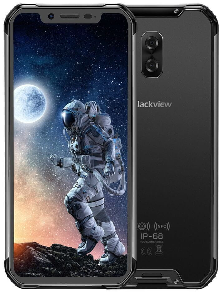 iGET Blackview GBV9600E, 4GB/128GB, Black