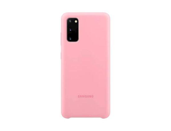 Samsung maska za Samsung Galaxy S20, silikonska, ružičasta