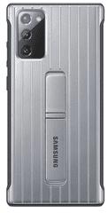 Samsung Tvrzený ochranný kryt Note 20 Silver EF-RN980CSEGEU