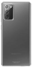 Samsung Průhledný zadní kryt pro Note 20 transparentní EF-QN980TTEGEU