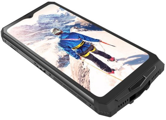 iGET smartfon Blackview GBV9100, 4GB/64GB, Black