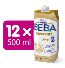 BEBA COMFORT 2 HM-O LIQUID 12x 500 ml