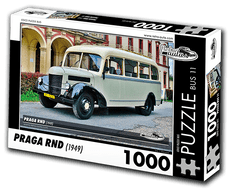 RETRO-AUTA© Puzzle BUS 11 - Praga RND (1949) 1000 dílků