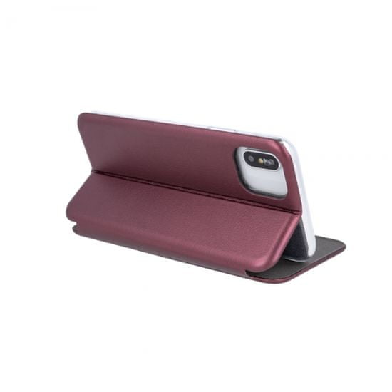 Havana Premium Soft ovitek za Samsung Galaxy A51, preklopni, bordo rdeč - Odprta embalaža
