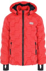 LEGO Wear dekliška bunda JIPE, 104, rdeča