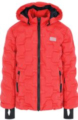 LEGO Wear dekliška bunda JIPE, 146, rdeča