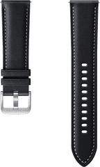 SAMSUNG Stitch Leather Band (22 mm, M/L) Black ET-SLR84LBEGEU