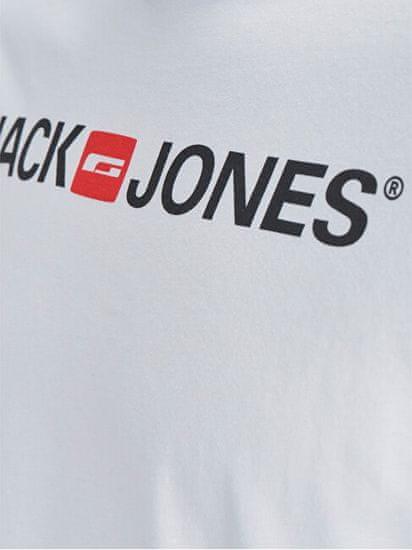 Jack&Jones Moška majica JJECORP 12137126 White