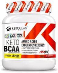 Amix Nutrition KetoLean Keto goBHB + BCAA 270g citron