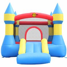 Happy Hop Skákací hrad se skluzavkou Klasik žluto-modro-červený