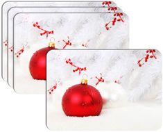 RoomDecor.eu Vánoční prostírání-051, 4 Ks