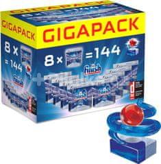 Finish tablete za pomivalni stroj Quantum Max Gigapack, 144 kosov