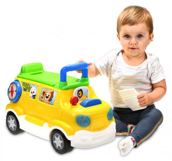 Mikro hračky Auto edukační/odrážedlo česky mluvící