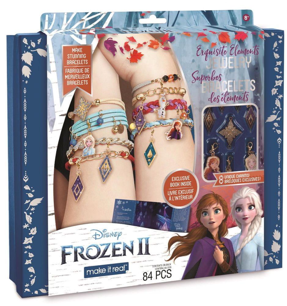 Make It Real Výroba náramku Frozen 2