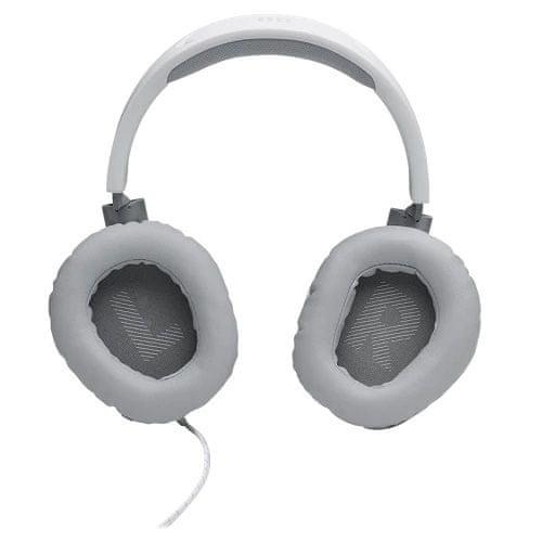 JBL Quantum 100 Gaming slušalke, bele
