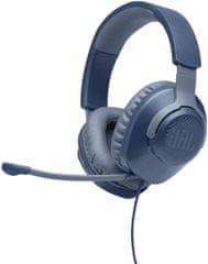 JBL Quantum 100 Gaming slušalke, modre