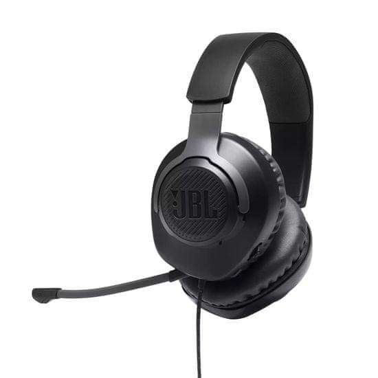JBL Quantum 100 Gaming slušalke, črne