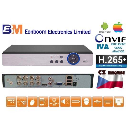 Eonboom 8CH 5MPx rekordér DVR/XVR MHD-0801