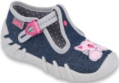 Befado 110P378 Speedy papuče za djevojčice, tamnoplava, 21