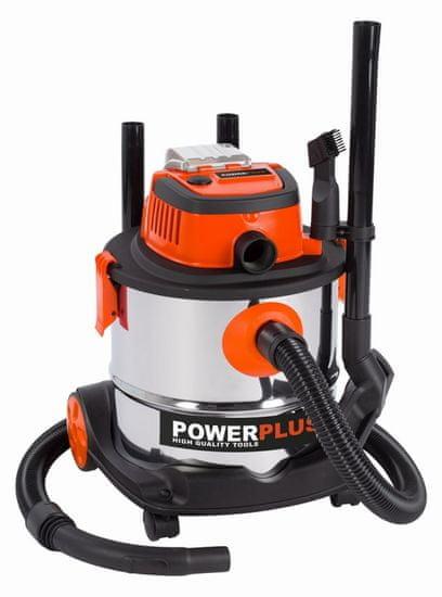PowerPlus POWDP6040 - Aku vysavač sucho/mokro 20V (bez AKU) 20L